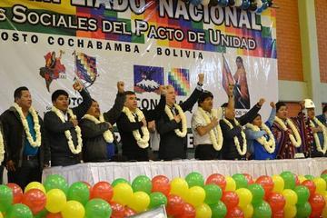 Pacto de Unidad ratifica apoyo al presidente Evo y su liderazgo