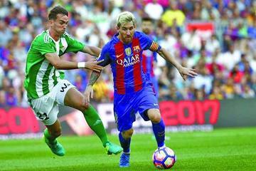 "Barcelona vence a Betis en el ""Camp Nou"""