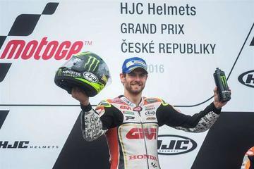 Crutchlow gana el GP de la República Checa