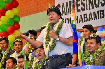 Cocaleros ven a Morales como el único candidato para las elecciones 2019
