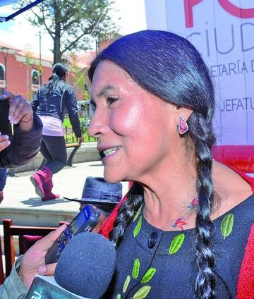 Luzmila Carpio retorna a Bolivia para un concierto