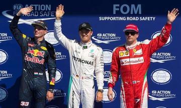 """Nico Rosberg logra """"pole"""" en el Gran Premio de Bélgica"""