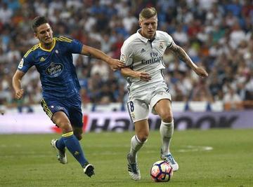 Real Madrid vence a Celta de Vigo