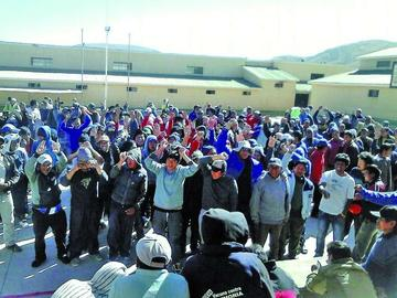 Cierran indulto con más de 85 reclusos favorecidos en Potosí