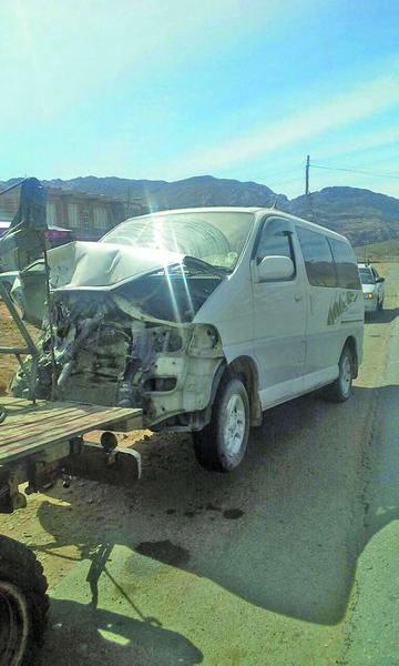 Una mujer fallece tras la colisión contra tractor