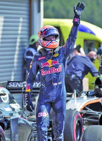 """Verstappen: """"yo defiendo mi posición"""""""