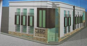 Avanza la obra del edificio del ex Sedes