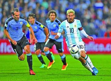 Argentina vence a Uruguay