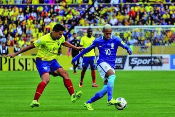 """Brasil gana 3-0 a Ecuador en el """"Atahualpa"""" de Quito"""