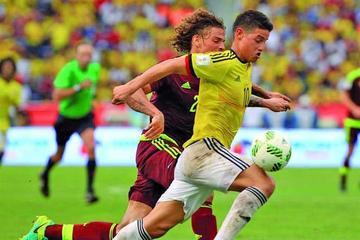 Colombia derrota 2-0 a la selección venezolana