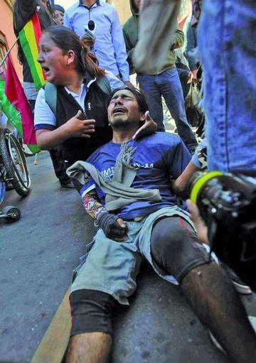 La ONU pide a Bolivia investigar represión contra discapacitados