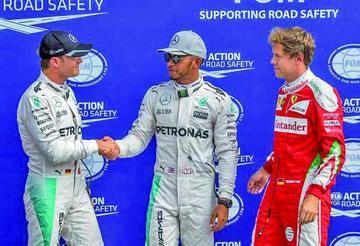 """Lewis Hamilton consigue la """"pole"""" en el GP de Italia"""