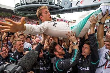 Nico Rosberg se impone en el Gran Premio de Italia