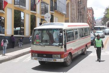 Trabajan en la modificación de  rutas para micros y minibuses