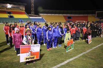 Potosí debuta con victoria en el nacional de fútbol