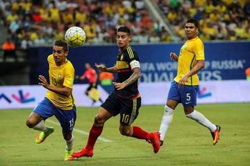 Brasil con el sello de Neymar vence a Colombia