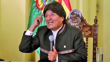 Evo Morales pide sanción para Chile