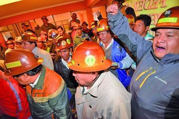 Cooperativistas mineros crean una Comisión Nacional de Pacificación