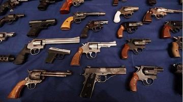 La Policía registra más de 10.000 armas de fuego en todo el país