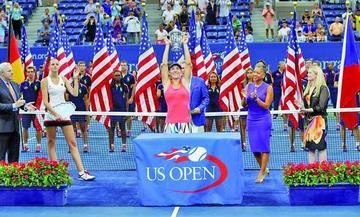 Kerber logra el título del Abierto EE.UU.