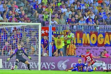 """Alavés da una cachetada al Barcelona en el """"Camp Nou"""""""