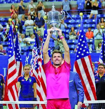 Wawrinka gana el Abierto de Estados Unidos