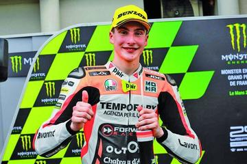 El italiano Lorenzo Baldasarri se adjudica el Gran Premio de San Marino de Moto2