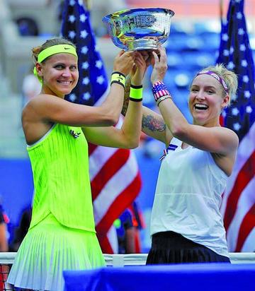 Mattek-Sand y Safarova se proclaman campeonas de dobles