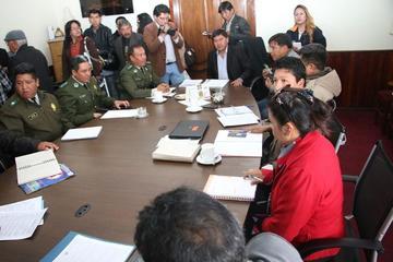 Potosí declara la guerra abierta a la trata y tráfico de menores