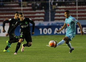 Bolívar busca su clasificación a costa de Atlético Nacional