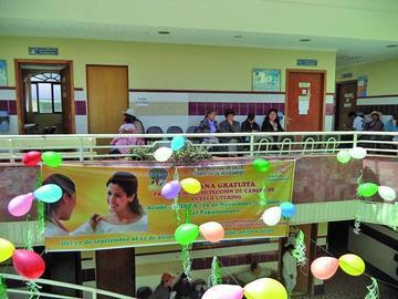 Campaña de detección de cáncer será en la CNS