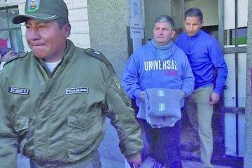 Ormachea sale de la cárcel y con medidas sustitutivas