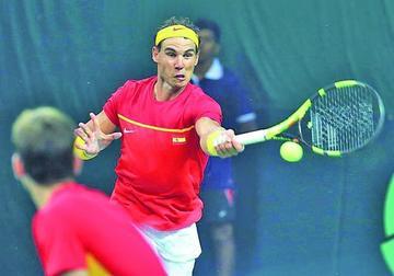 España vence a la India en la Copa Davis
