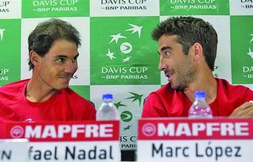 España vuelve al Grupo Mundial de tenis