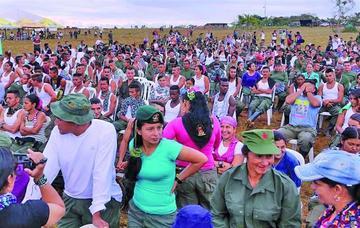 Las FARC inician su conferencia para pasar de la guerra a la paz