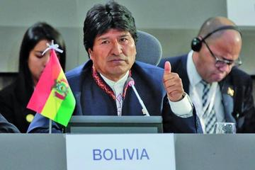 """Morales: """"la unidad entre los pueblos será el triunfo de América Latina"""""""