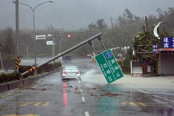 En China, suben a 31 los muertos por los tifones Malakas y Meranti