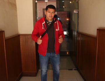 Carlos Saucedo ya está habilitado