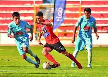 Nacional vuelve a tropezar en el torneo Apertura