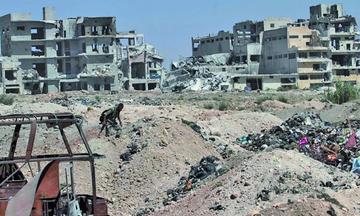 Los bombardeos azotan varias partes de la región norte de Siria