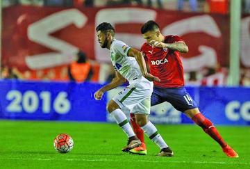 Chapecoense le saca un empate a Independiente en Argentina