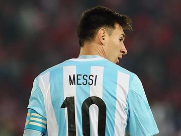 Argentina descarta a Lionel Messi