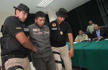 Policía captura a presunto autor del asesinato de Rodolfo Illanes