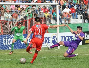Guabirá terminó goleando a Real Potosí