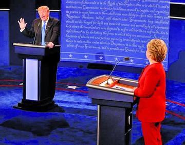 Primer debate presidencial muestra altas diferencias