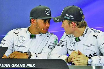 Hamilton y Rosberg están listos para la batalla en el GP de Malasia