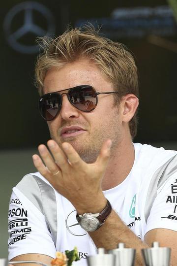 """Rosberg: """"perdí en la última curva"""""""