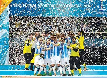 Argentina se corona campeón mundial