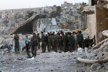 El Ejército sirio avanza en Alepo y pide a los rebeldes que se rindan