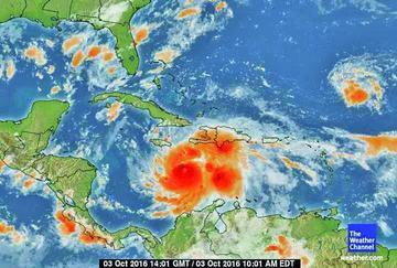 El Caribe se prepara para la llegada del huracán Matthew